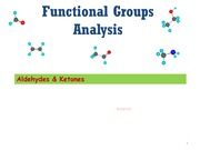 2-Lecture 3-FGA-Aldehydes and Ketones