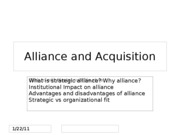 Alliance and Acquisition ch12 part 2