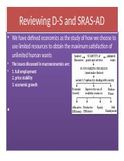 Reviewing D-S and SRAS-AD (revised) (1).ppt