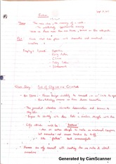 English Notes Lecture 1
