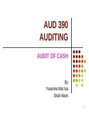 TOPIC 15 - AUDIT OF CASH (1).ppt