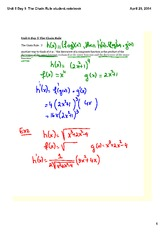The Chain Rule student