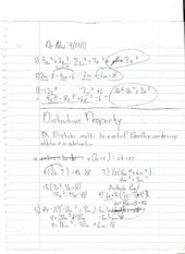 Quiz Review  Equations and Integers Notes