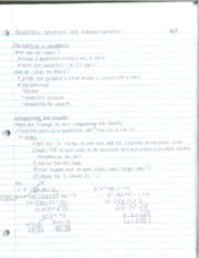 Quadratic Functions And Complex Numbers