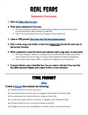 Real Fears (Summative Assessment) (1).pdf