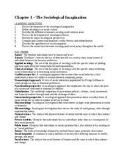 chapter 1 summary sociology