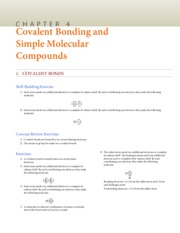 Chapter 5 (Molecular Compounds) Solutions