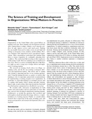 The Science of Training and Development.pdf