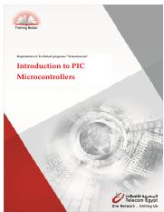 20 Introduction to PIC Microcontrollers
