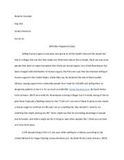 Definition argument essay assignment 1 melissa lalta eng 106
