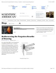 Rediscovering the Forgotten Benefits of Drawing - Symbiartic - Scientific American Blog Network.pdf