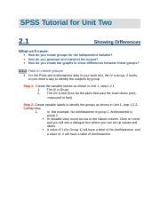 SPSS Tutorial Unit 2 v19 (1)