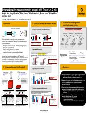 enhanced protein mass spectrometry analysis with trypsin lysc mix scientific poster.pdf