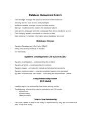 DATABASE_DESIGN_LIFECYCLE_MODELNOTES.doc