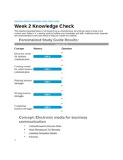 Week 2 Knowledge Check Study Guide