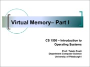 2013-11-07 Virtual Memory - Basic Concepts