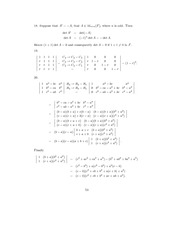 Linear Algebra Solutions 50