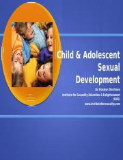 sexual development ppt