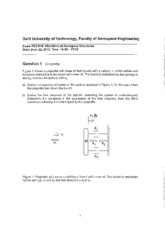 Exam_June_22_2010_Vibrations_of_Aerospace_Structures