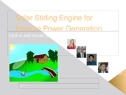 Team 01 Stirling Engine