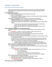 ENV200 Chapter 10 Notes
