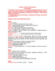Fall2006stuDY GUIDE FOR 102 EXAM II[1]