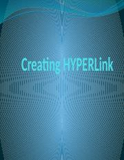 09 Creating HyperLinks.pptx