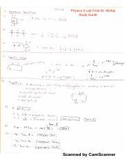physics 2 lab study guide pdf physics 2 lab final dr moltaji study Diagnostic Specimen Collection Guide this is the end of the preview sign up to access the rest of the document