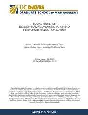 Social Heuristics-Decision Making and Innovation in a Networked Production Market.pdf