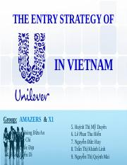 micro and macro environment of unilever