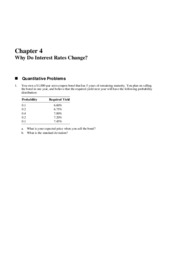 Solutions to chapter 4