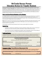 F16 Education Section for Transfer Students.pdf