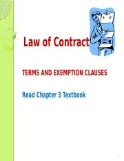 Law of Contract 2