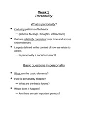 Personality - week 1 outline (1)