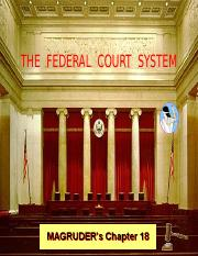 Reg Gov 18 Federal Court Sys [Norman]