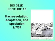 Lecture 10 posted