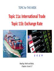 Topic 11 - International Trade and Exchange Rate(1).pptx