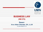 1Business Law UMN (Revised 24082010)