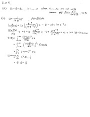 Homework 9 Solutions math 494