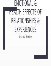 Emotional & Health Effects of Relationships & Experiences.pptx