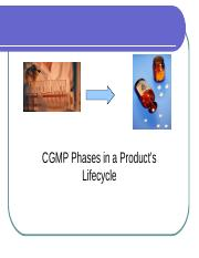 CGMP in Product_s Lifecycle (1).ppt