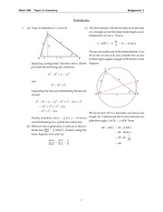 MATH 348 2014 Assignment 1 Solutions