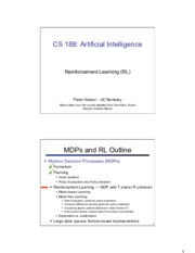 cs188 lecture 10 and 11 -- reinforcement learning 2PP.pdf