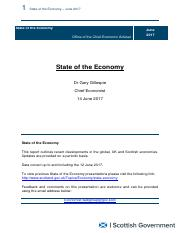 State of the Economy - Publication - June 2017