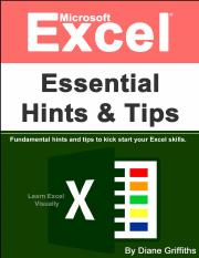 Microsoft Excel Essential Hints and Tips - Diane Griffiths.pdf