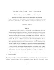 Distributionally Robust Convex Optimization