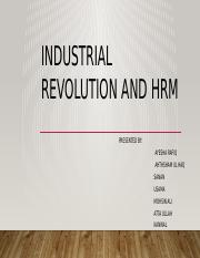 Industrial revolution and hrm (1) (1).pptx