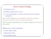 Lecture40-41_ErrorControlCoding