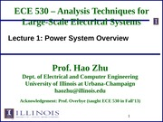 ECE530 Fall 2014 Lecture Slides 1