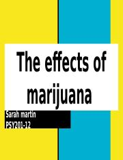 The effects of marijuana.pptx